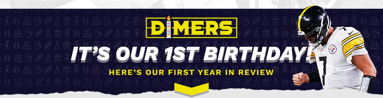 Dimers 1st Birthday