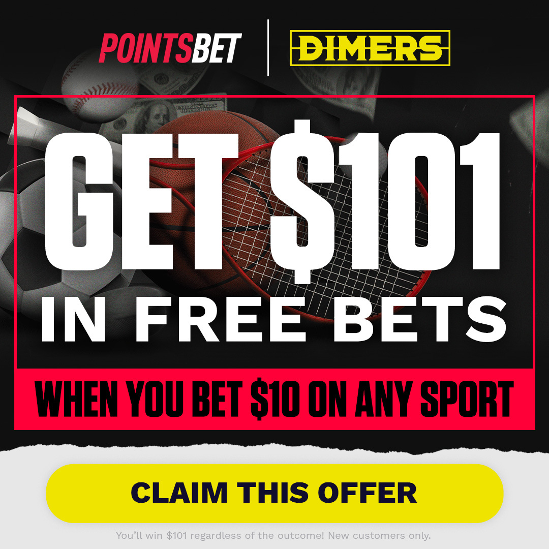 PointsBet x Dimers Offer.
