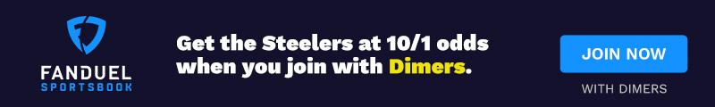 FanDuel Sportsbook Steelers Offer